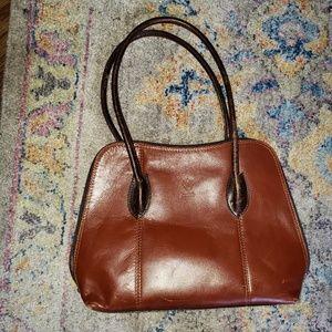 Vera Pelle Leather Shoulder purse